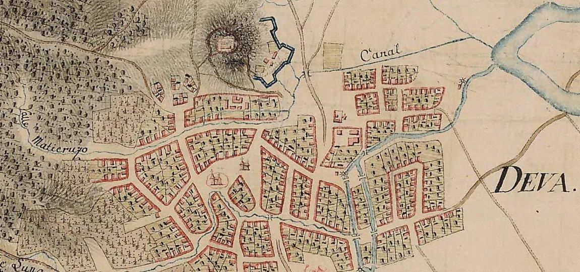 Harta Orasului Deva